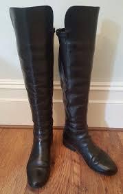 boots uk dune gorgeous dune trish the knee otk leather boots black uk