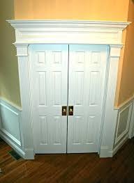 Exterior Door Casing Replacement How To Install Door Trim Door Casing Trim Replacing Exterior Door