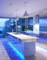 Led Lighting Under Kitchen Cabinets by Kitchen Cool Led Kitchen Lighting For Two Toned Kitchen Design