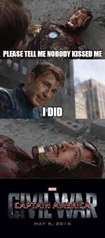 Iron Man Meme - captain america civil war memes wonder why iron man and cap go to war