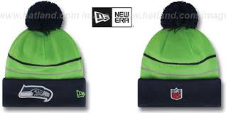 seahawks thanksgiving day knit beanie hat by new era at hatland c