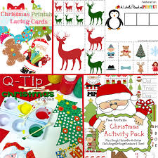 free christmas printable pack u0026 learning printables kids