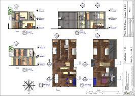 plan maison en u ouvert plan maison container pdf