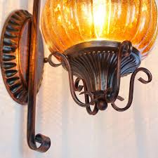 retro iron lighting collection vintage bronze finish 1 light wall