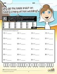 math fractions worksheets math riddles pack 1 concepts 4th u20137th