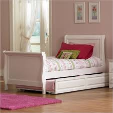 elegant white twin sleigh bed with twin sleigh bed with trundle
