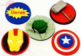avengers cupcake toppers фото база