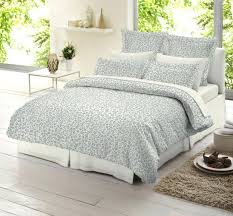 um image for duvet covers king grey and white print cover leopard gray