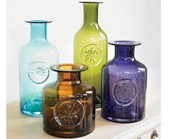 Colored Crystal Vases Set Of 4 Dartington Crystal Flower Vases Home Decor Pinterest