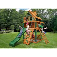 outdoors gorilla swing sets playsets for backyard play