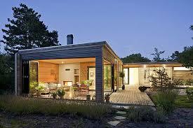 one story houses modern residence in sweden by johan sundberg