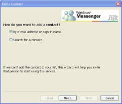 how do i add to my contact list in windows messenger