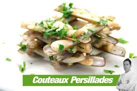 cuisiner couteaux recette couteaux persillades cook e
