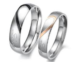 his and hers wedding bands ebay