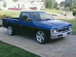 nissan blue truck nissan hardbody truck brief about model