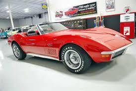 1971 chevy corvette stingray 1971 chevrolet corvette stingray passenger side front view
