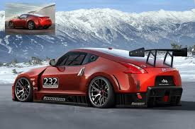 nissan 370z custom body kit 370z veilside wide body kit