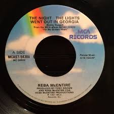 The Nights The Lights Went Out In Georgia Reba Mcentire The Night The Lights Went Out In Georgia At Discogs