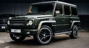 used mercedes g wagon mercedes g wagen by kahn is a one and it s for sale