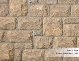 cumberland building stone rustic bark arriscraft building