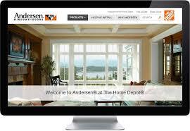 interior windows home depot ciceron creates website for andersen windows andersen windows home