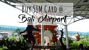 bali prepaid sim card best place to buy is at airport from