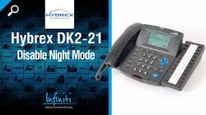 hybrex dk2 21 phone handset disable night mode infiniti