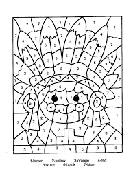 kindergarten barn coloring page free printable color number pages