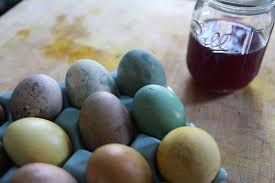 naturally dyed easter eggs david the tornado
