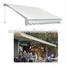 12 Awning Outdoor 12 U0027by 10 U0027patio Deck Manual Retractable Awning Sun Shade