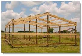 pole barn plans how to build pole barn post beam structure secrets shortcuts photos