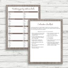 Best Wedding Planner Organizer Linen Wedding Planner Linen Wedding Kit Linen Wedding Organizer