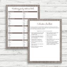 The Wedding Planner And Organizer Linen Wedding Planner Linen Wedding Kit Linen Wedding Organizer
