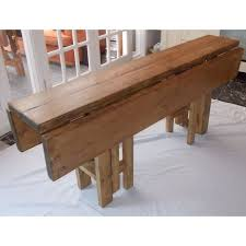 best 25 rustic folding tables ideas on pinterest farmhouse