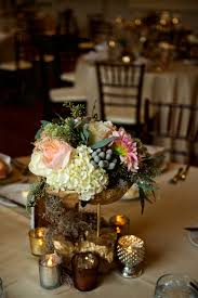 Rustic Center Pieces Reception Décor Photos Ivory Green U0026 Pink Rustic Centerpiece