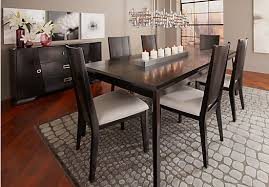 sofia vergara biscayne black 5 pc rectangle dining room dining