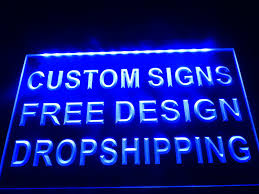 make your own light up sign choosing the right words in making custom signs