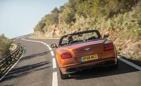 bentley convertible 2018 2018 bentley continental supersports convertible test drive rear