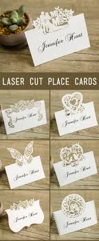 21 unique wedding cards place cards ideas