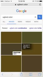 worlds ugliest color carter broek carterbroek6 twitter