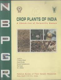 native plants of india crop plants of india a check list of scientific names pdf