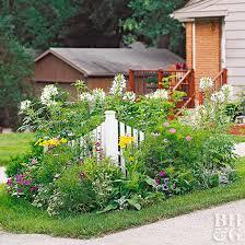 corner flower bed designs corner garden design lovely corner