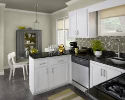 Small Breakfast Nook Chic Black And White Kitchens With Geometric Backsplash Also Small