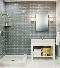 glass bathroom tile ideas 35 blue grey bathroom tiles ideas and pictures decoración