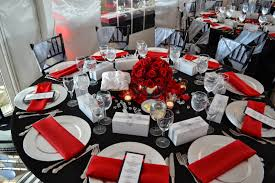 Black And Red Vase Violet Gardens Floral Designs Red Silver And Black Wedding