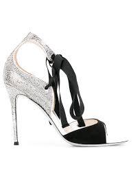 rené caovilla thong sandals white aquamarine women shoes red