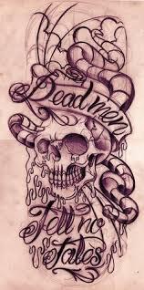 dead men tell no tales tattoo sketch tattos pinterest tattoo