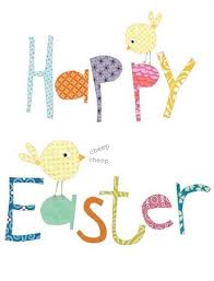 happy easter cards pack of five easter cards happy easter karenza paperie