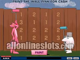 40 line slots pink panther by playtech