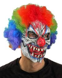 gorilla halloween mask zagone studios carnival creep clown halloween costume kit zagone